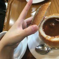 箱根の渡邊ベーカリーでシチューパンと梅干あんぱんを堪能した話。