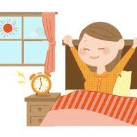 義実家での朝。起きる時間や化粧、朝食の準備など、気を遣う話。