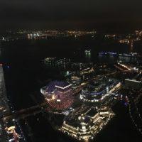 ランドマークタワーの展望台にクリスマス時期に上った!夜景の写真と感想。