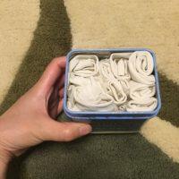 使い捨て布ナプキンを手作りした!いらない布で縫わずに簡単!