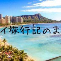 ハワイ旅行記~家族旅行で出かけた初めてのハワイな日々!~