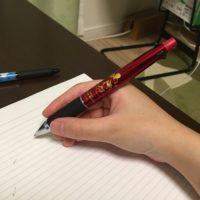勉強で手が疲れる!ペンの持ち方を改善したら楽になった話!