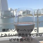 横浜ハンマーヘッドでピザを!アンティーカピッツェリアダミケーレへ行ってきた!